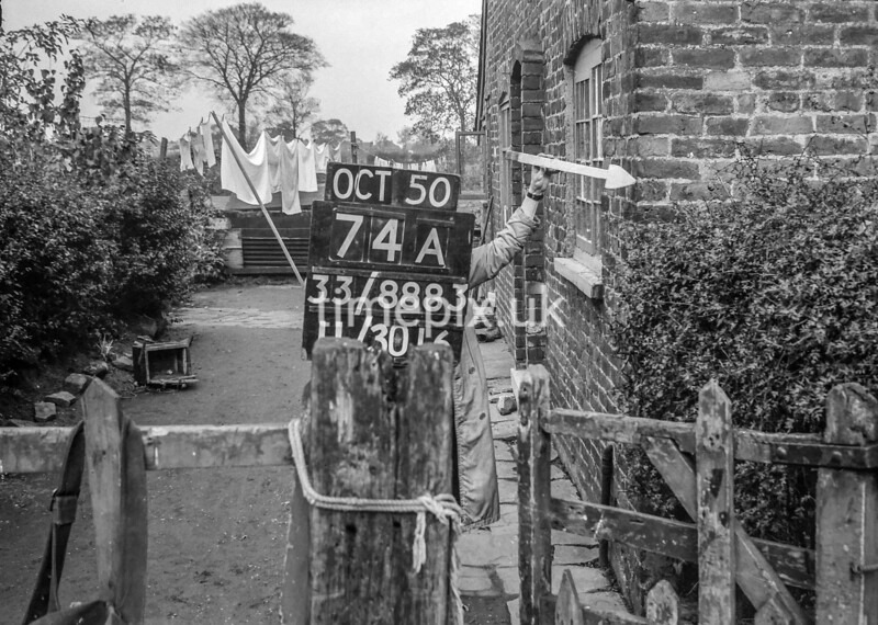 SJ888374A, Ordnance Survey Revision Point photograph of Greater Manchester