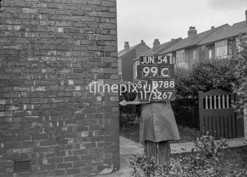 SJ878899C, Ordnance Survey Revision Point photograph of Greater Manchester