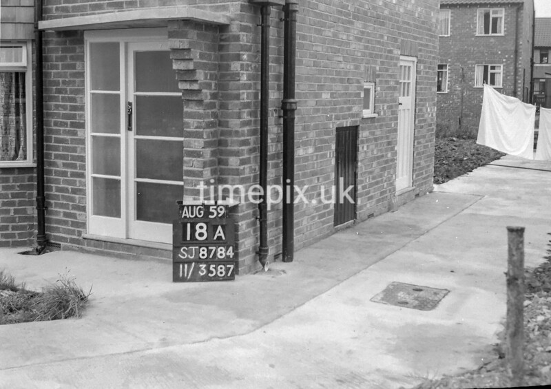 SJ878418A, Ordnance Survey Revision Point photograph of Greater Manchester