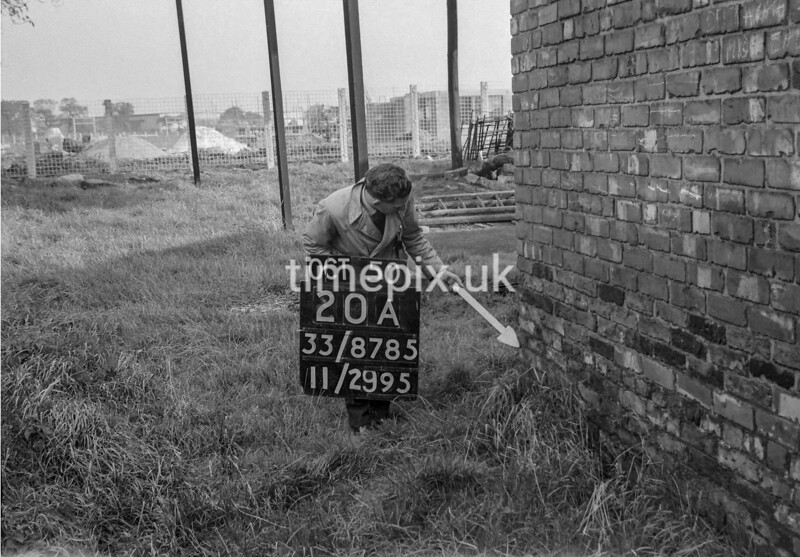 SJ878520A, Ordnance Survey Revision Point photograph of Greater Manchester