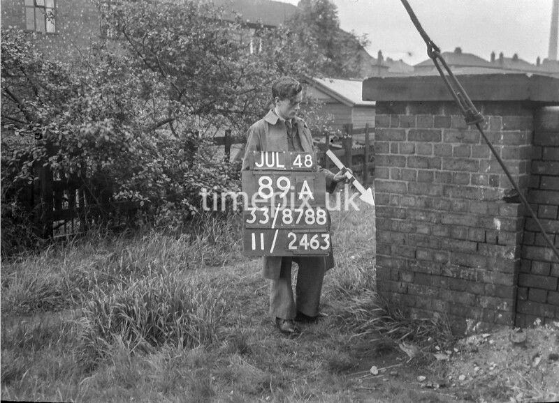 SJ878889A, Ordnance Survey Revision Point photograph of Greater Manchester