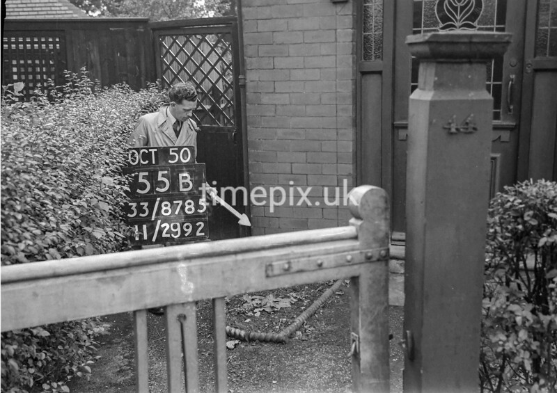 SJ878555B, Ordnance Survey Revision Point photograph of Greater Manchester