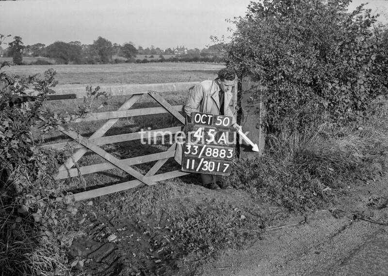 SJ888345A, Ordnance Survey Revision Point photograph of Greater Manchester