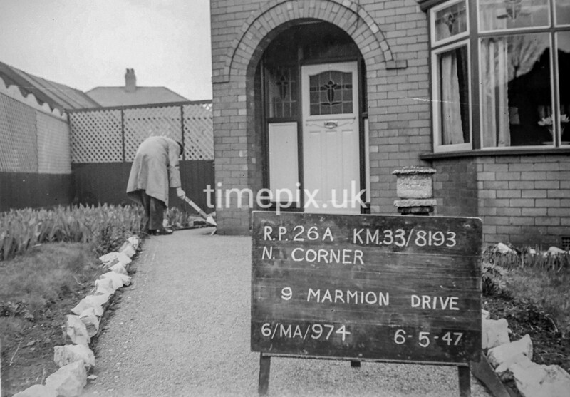 SJ819326A, Ordnance Survey Revision Point photograph in Greater Manchester