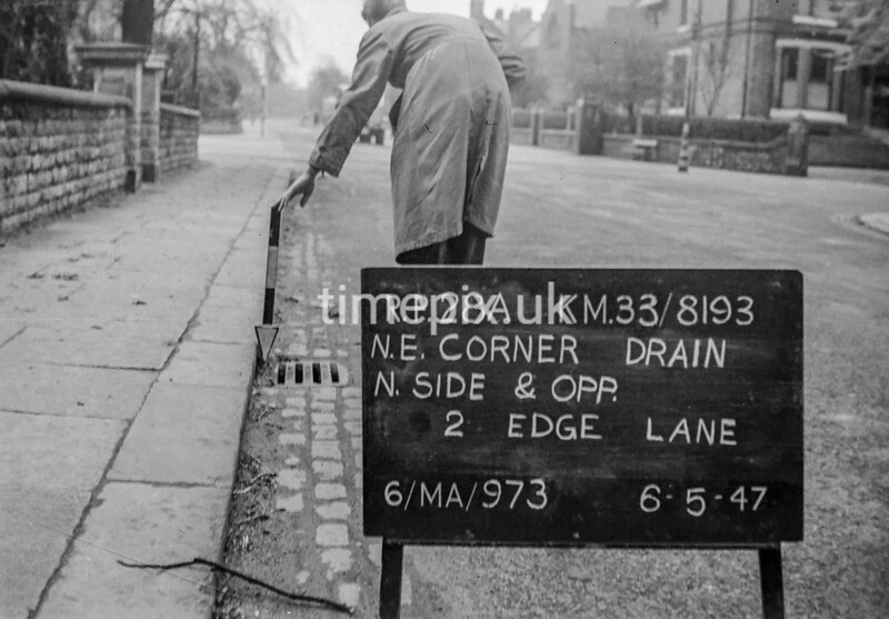SJ819328A, Ordnance Survey Revision Point photograph in Greater Manchester