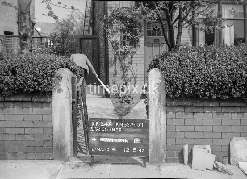 SJ819324A, Ordnance Survey Revision Point photograph in Greater Manchester