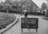 SJ819351K, Ordnance Survey Revision Point photograph in Greater Manchester