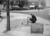 SJ839234C, Ordnance Survey Revision Point photograph in Greater Manchester