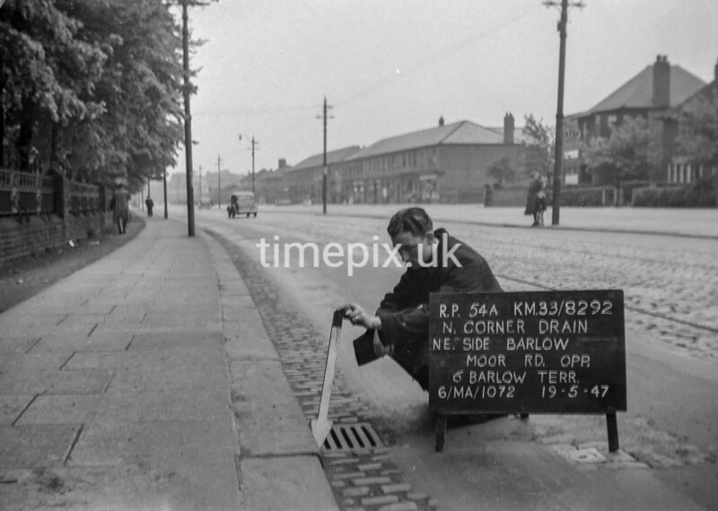 SJ829254A, Ordnance Survey Revision Point photograph in Greater Manchester