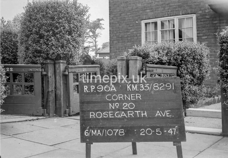 SJ829196A, Ordnance Survey Revision Point photograph in Greater Manchester