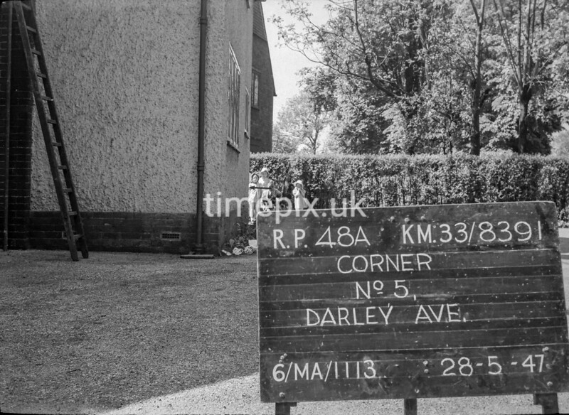 SJ839148A1, Ordnance Survey Revision Point photograph in Greater Manchester