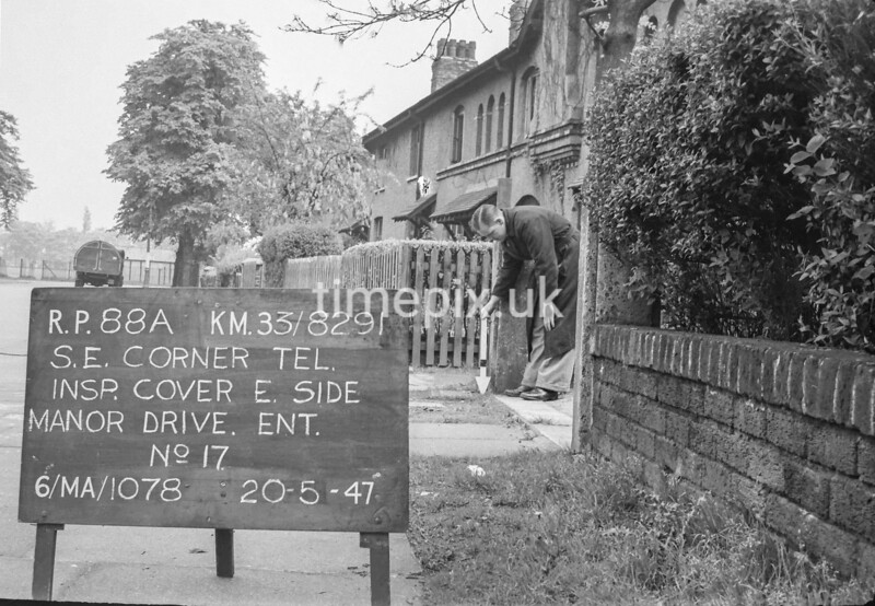 SJ829188A, Ordnance Survey Revision Point photograph in Greater Manchester