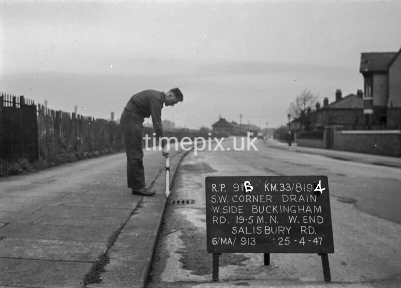 SJ819491B, Ordnance Survey Revision Point photograph in Greater Manchester