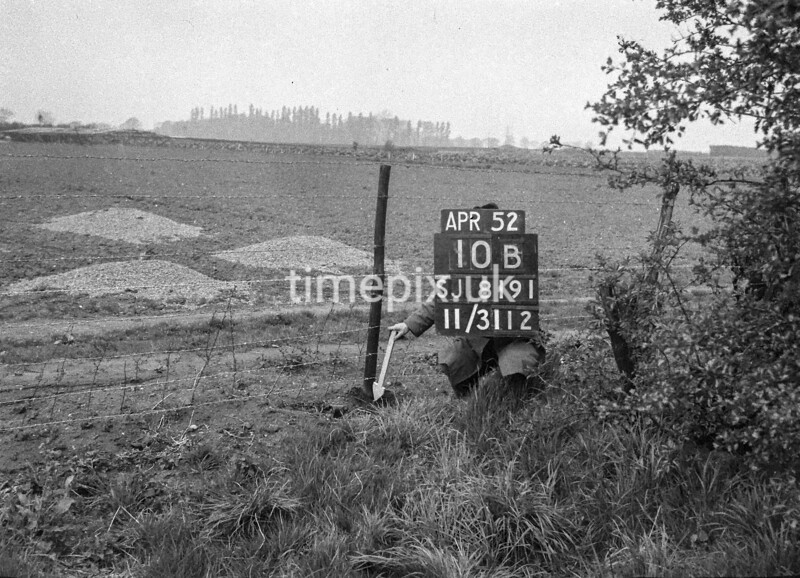 SJ819110B, Ordnance Survey Revision Point photograph in Greater Manchester
