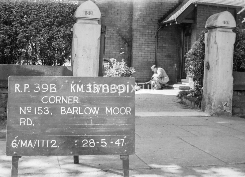 SJ839139B, Ordnance Survey Revision Point photograph in Greater Manchester