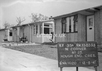 SJ839335A, Ordnance Survey Revision Point photograph in Greater Manchester