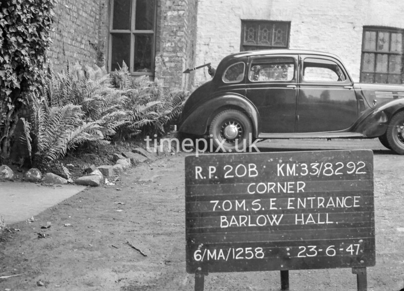 SJ829220B, Ordnance Survey Revision Point photograph in Greater Manchester