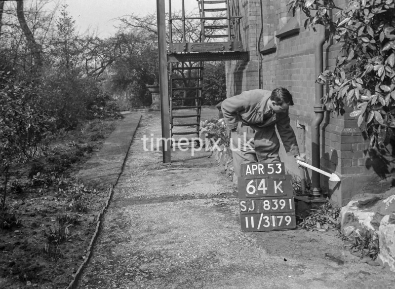 SJ839164K, Ordnance Survey Revision Point photograph in Greater Manchester