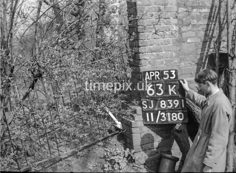 SJ839163K, Ordnance Survey Revision Point photograph in Greater Manchester