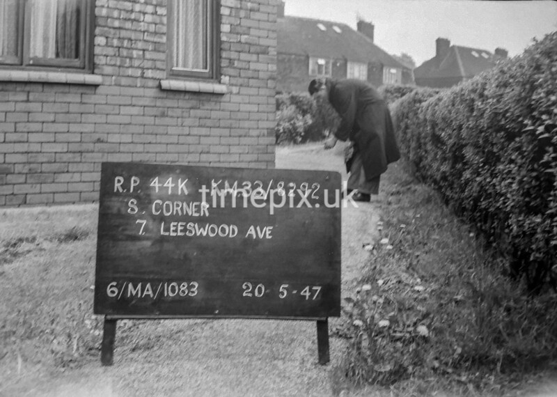 SJ829244K, Ordnance Survey Revision Point photograph in Greater Manchester