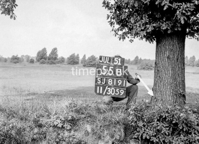 SJ819155B, Ordnance Survey Revision Point photograph in Greater Manchester
