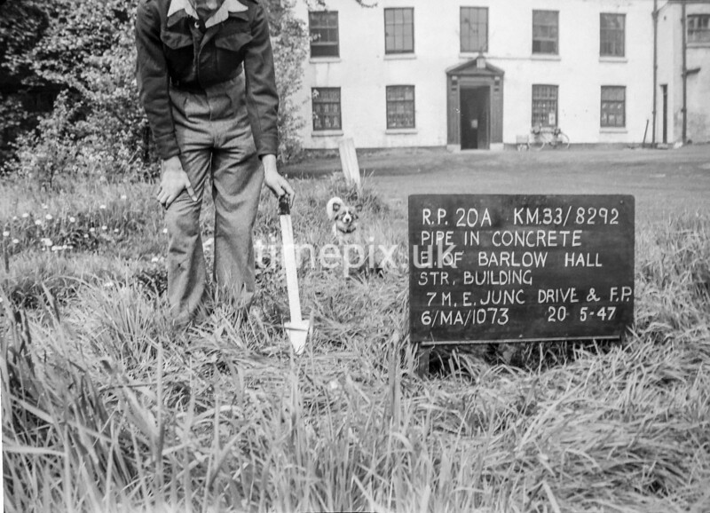 SJ829220A, Ordnance Survey Revision Point photograph in Greater Manchester