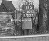 SJ839210X, Ordnance Survey Revision Point photograph in Greater Manchester