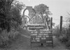 SJ819206A, Ordnance Survey Revision Point photograph in Greater Manchester