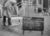 SJ819318A, Ordnance Survey Revision Point photograph in Greater Manchester
