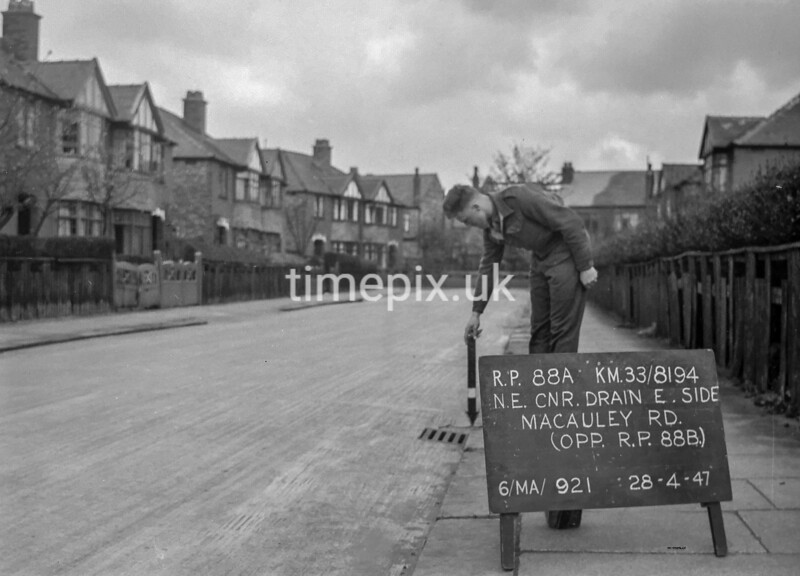 SJ819488A, Ordnance Survey Revision Point photograph in Greater Manchester