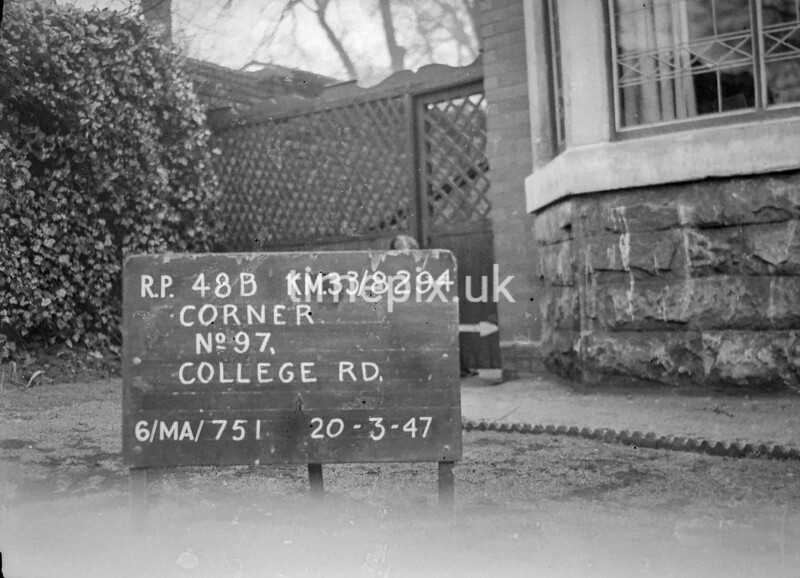 SJ829448B, Ordnance Survey Revision Point photograph in Greater Manchester