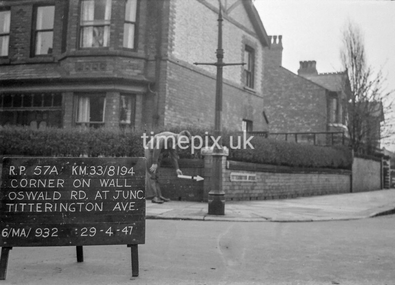 SJ819457A2, Ordnance Survey Revision Point photograph in Greater Manchester