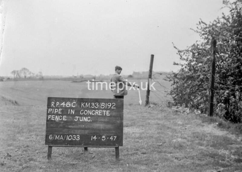 SJ819246C, Ordnance Survey Revision Point photograph in Greater Manchester