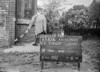 SJ819387A, Ordnance Survey Revision Point photograph in Greater Manchester