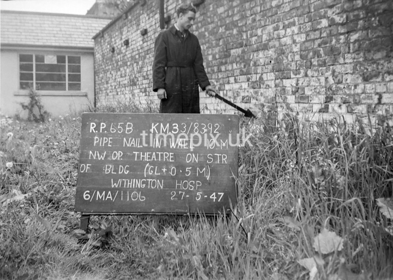 SJ839265B, Ordnance Survey Revision Point photograph in Greater Manchester