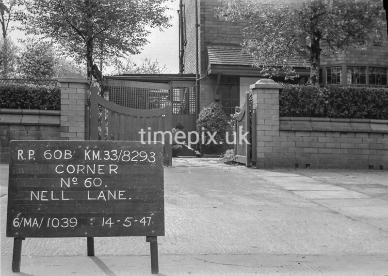 SJ829360B, Ordnance Survey Revision Point photograph in Greater Manchester