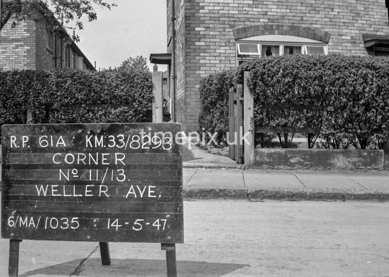 SJ829361A, Ordnance Survey Revision Point photograph in Greater Manchester