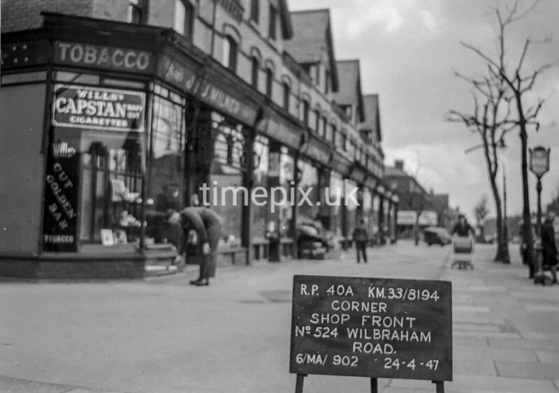 SJ819440A, Ordnance Survey Revision Point photograph in Greater Manchester