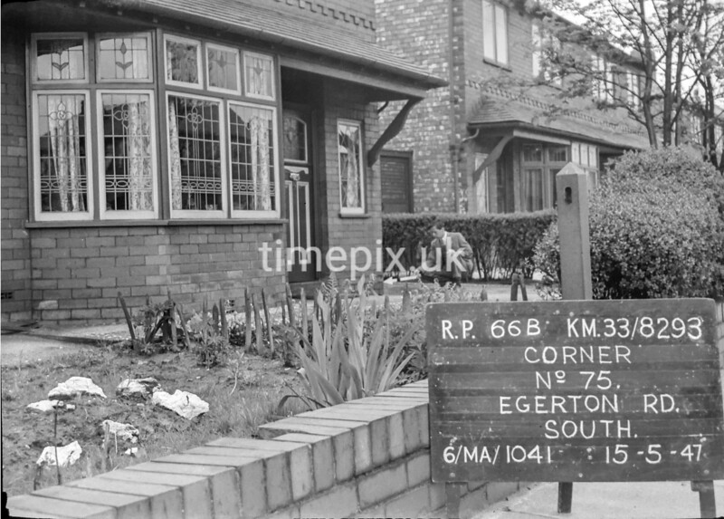 SJ829366B, Ordnance Survey Revision Point photograph in Greater Manchester