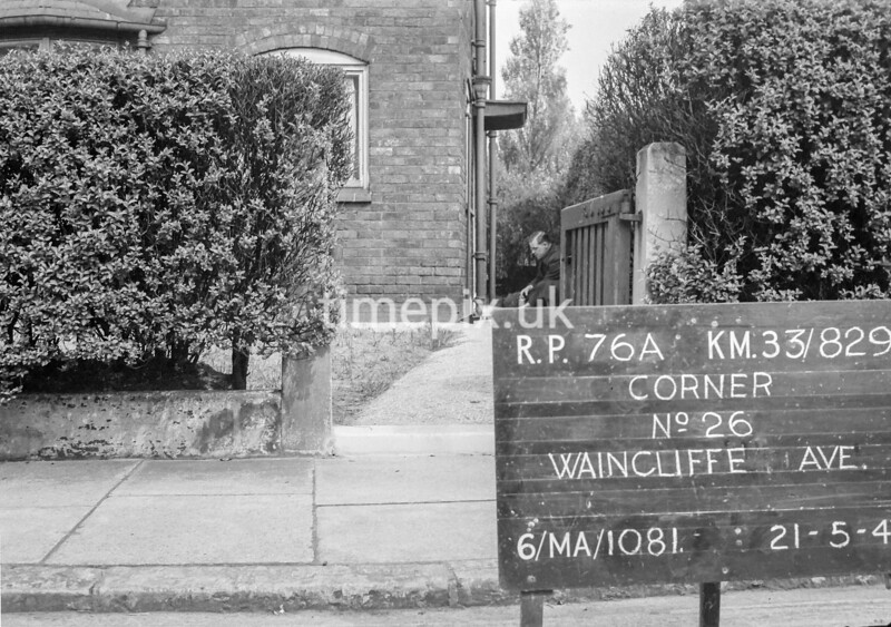 SJ829176A, Ordnance Survey Revision Point photograph in Greater Manchester