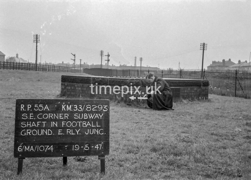 SJ829355A, Ordnance Survey Revision Point photograph in Greater Manchester