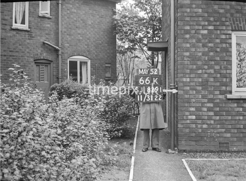 SJ829166K, Ordnance Survey Revision Point photograph in Greater Manchester