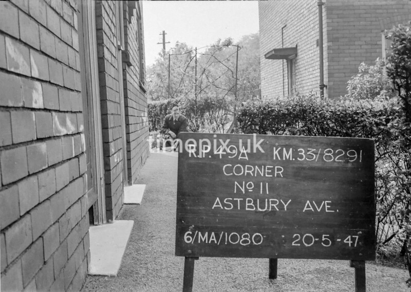 SJ829149A, Ordnance Survey Revision Point photograph in Greater Manchester