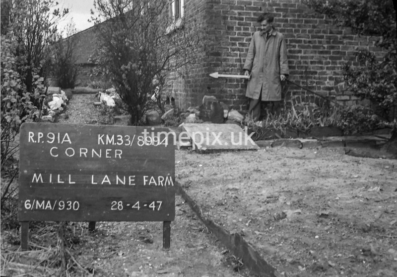 SJ899491A, Ordnance Survey Revision Point photograph in Greater Manchester