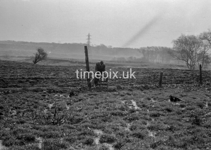 SJ909218B, Ordnance Survey Revision Point photograph in Greater Manchester