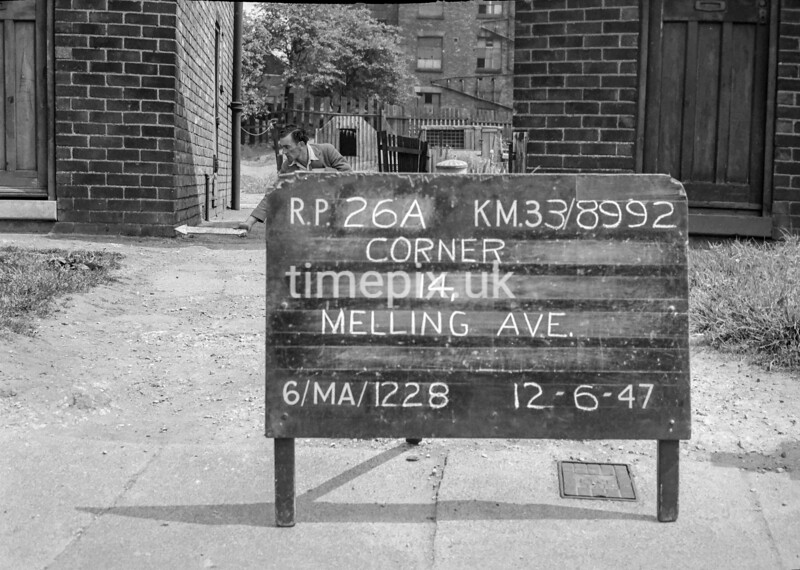 SJ899226A, Ordnance Survey Revision Point photograph in Greater Manchester