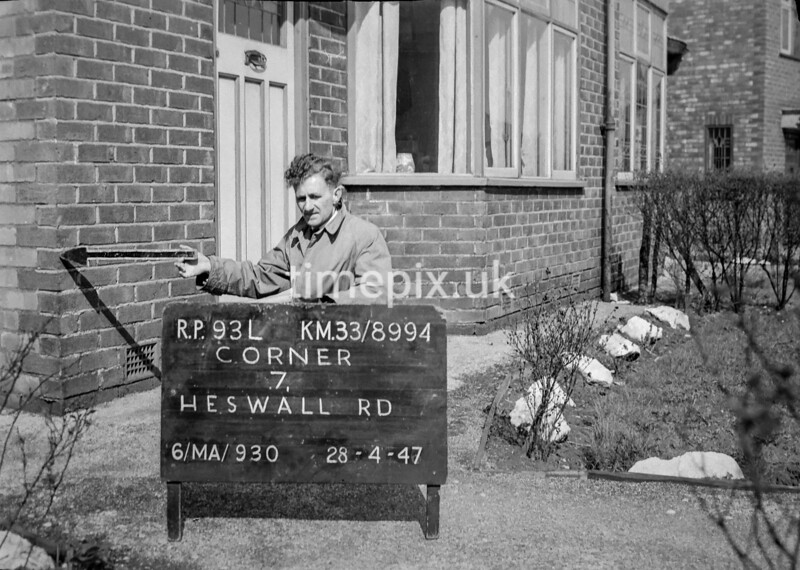 SJ899493L, Ordnance Survey Revision Point photograph in Greater Manchester