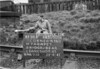 SJ909498B, Ordnance Survey Revision Point photograph in Greater Manchester