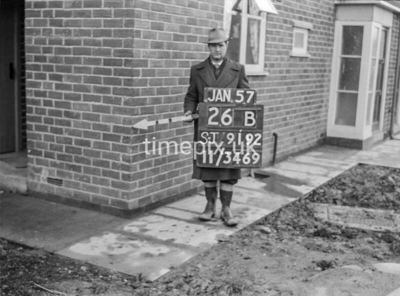SJ919226B, Ordnance Survey Revision Point photograph in Greater Manchester