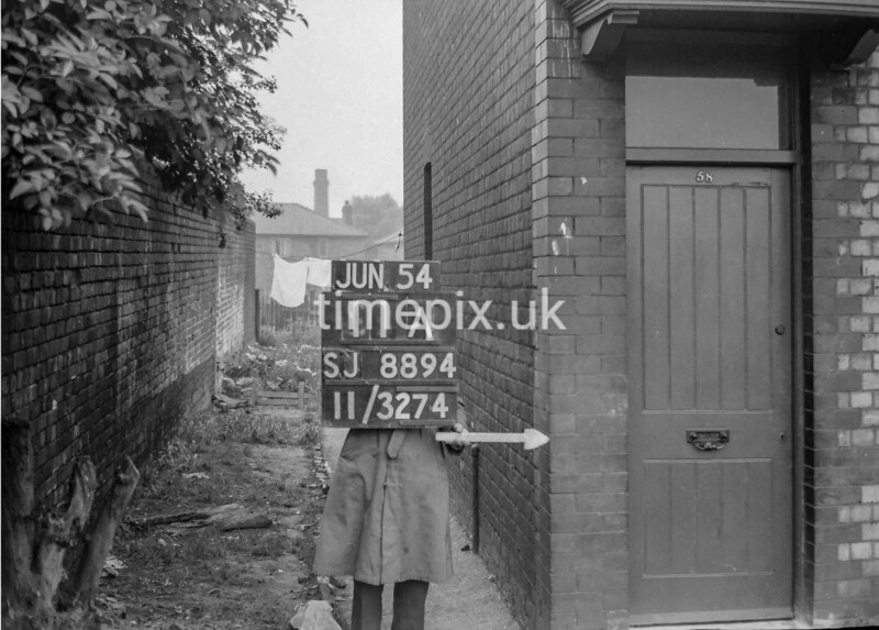 SJ889411A, Ordnance Survey Revision Point photograph in Greater Manchester